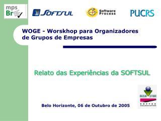WOGE - Worskhop para Organizadores  de Grupos de Empresas