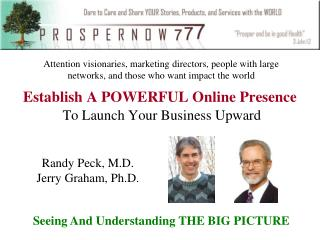 Establish A POWERFUL Online Presence To Launch Your Business Upward