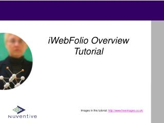 iWebFolio Overview Tutorial