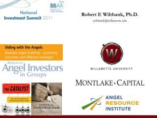 Robert E Wiltbank, Ph.D. wiltbank@willamette