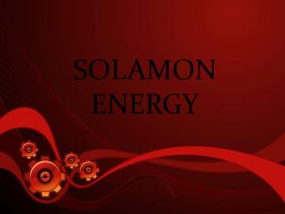 SOLAMON ENERGY - BP terminates deal with contractor after Az