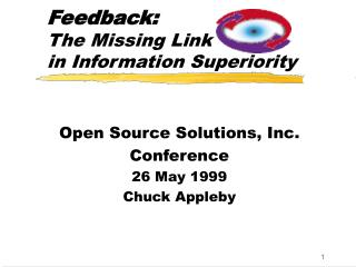Feedback: The Missing Link  in Information Superiority