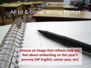 AP Lit & Comp: Writing Prompt