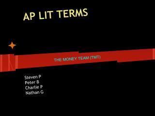 AP LIT TERMS