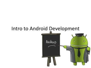 Intro to Android Development