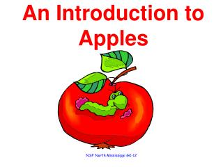 An Introduction to Apples
