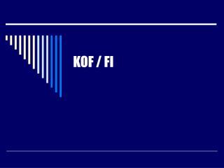 KOF / FI