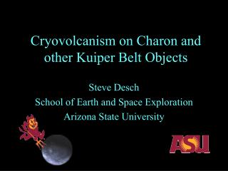 Cryovolcanism on Charon and other Kuiper Belt Objects