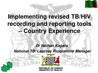 Implementing revised TB