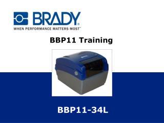 BBP11 Training
