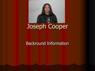 Joseph Cooper