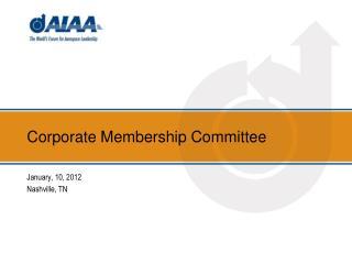Corporate Membership Committee