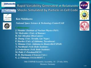 Rapid Variability Generated at Relativistic Shocks Simulated by Particle-in-Cell Code