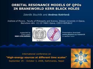 ORBITAL RESONANCE MODELS OF QPOs IN BRANEWORLD  KERR  BLACK HOLES