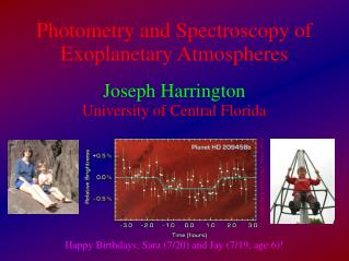 Photometry and Spectroscopy of Exoplanetary Atmospheres