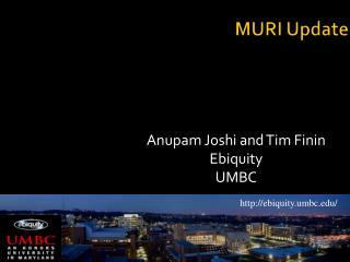 MURI Update