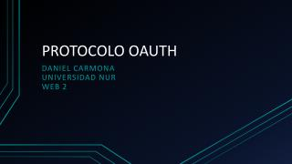 PROTOCOLO OAUTH