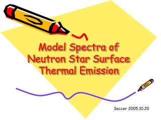 Model Spectra of Neutron Star Surface Thermal Emission