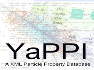 Particle Properties in XML