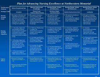 Northwestern Medicine Strategic Goals