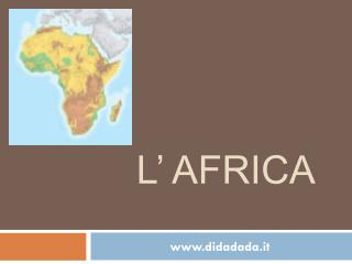 L' Africa