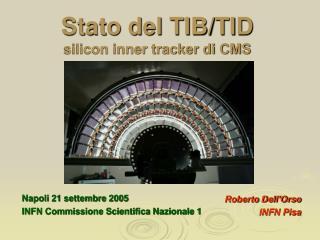 Stato del TIB/TID silicon inner tracker di CMS