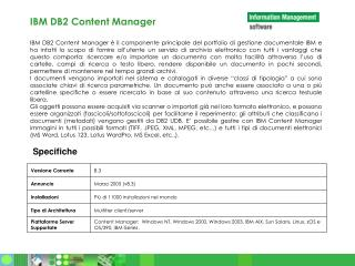 IBM DB2 Content Manager
