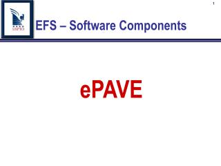 EFS – Software Components