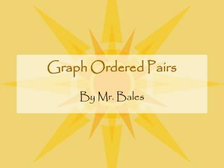 Graph Ordered Pairs