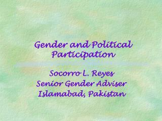 Trends in Gender and Political Participation