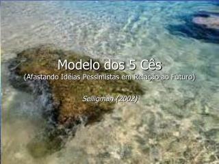 Modelo dos 5 Cês (Afastando Idéias Pessimistas em Relação ao Futuro)