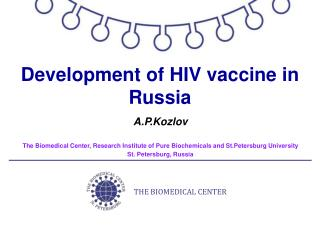 Development of HIV vaccine in Russia