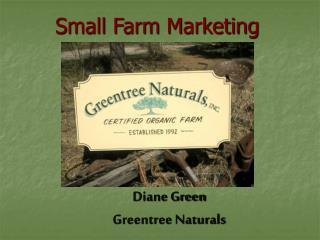 Diane Green Greentree Naturals