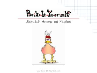 Scratch Animated Fables
