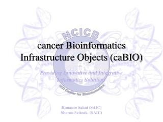 cancer Bioinformatics Infrastructure Objects (caBIO)