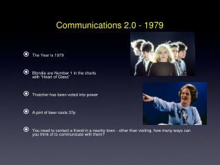 Communications 2.0 - 1979