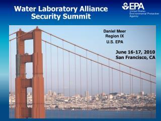 Water Laboratory Alliance  Security Summit