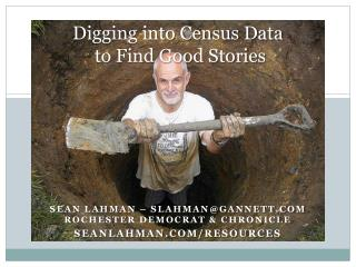 Digging into Census Data  to Find Good Stories