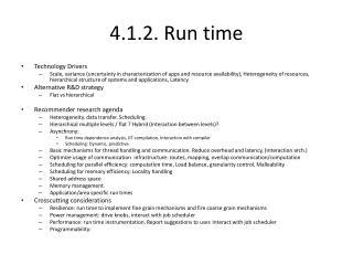 4.1.2. Run time