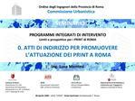 Ordine degli Ingegneri della Provincia di Roma  Commissione Urbanistica