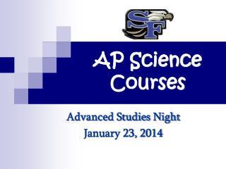 AP Science Courses