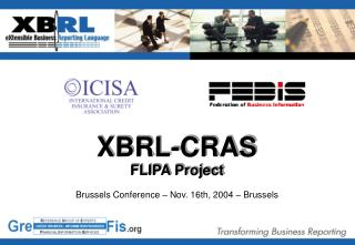Brussels Conference – Nov. 16th, 2004 – Brussels