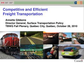 Competitive and Efficient Freight Transportation