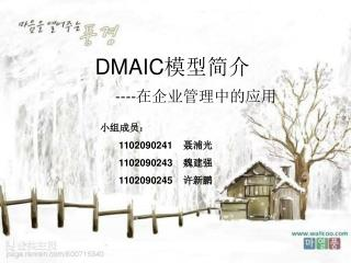 DMAIC 模型简介