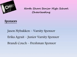 North Shore Senior High School Cheerleading