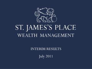 INTERIM RESULTS July 2011