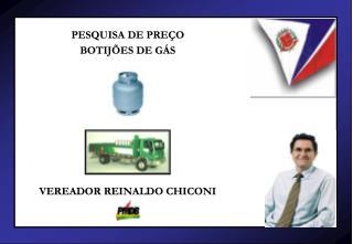 Preço do botijão de gás não sofre alteração nos últimos quatro meses