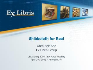 Shibboleth for Real
