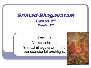 Srimad-Bhagavatam Canto 1 st Chapter 2 nd