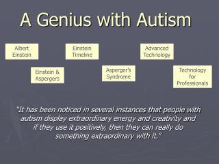 A Genius with Autism